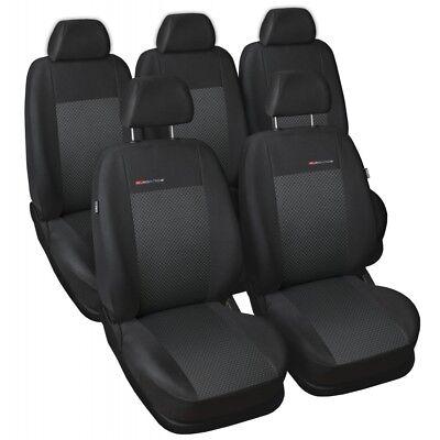 Ford Galaxy III 7 Sitze 2015 Maßgefertigt Maß Sitzbezüge Sitzbezug Velours