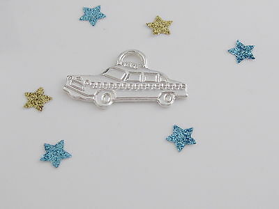 Tiffany & Co Silver Taxi Cab Charm For Bracelet Necklace