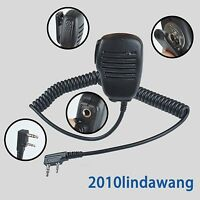 Speaker Microphone Mic For Kenwood Tk2160 Tk3160 Tk2170 Tk3170 Portable Radio