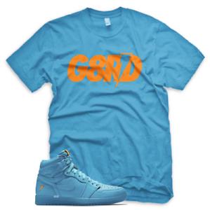 4fb487d6a7a6cf G8RD T Shirt for Jordan 1 Retro Cool Blue Lagoon Gatorade Purple ...