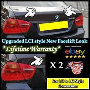 BMW-3-serie-E90-Pre-Corte-Luz-trasera-Facelift-Pegatinas-100-Mejor-Calidad