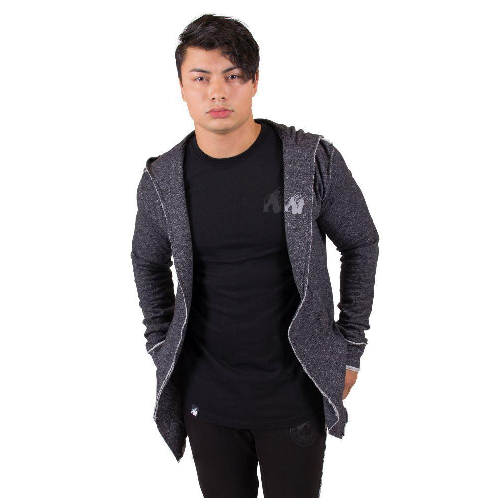Gorilla WEAR Veste Bolder Veste WEAR style Sweatshirt Noir 783a04