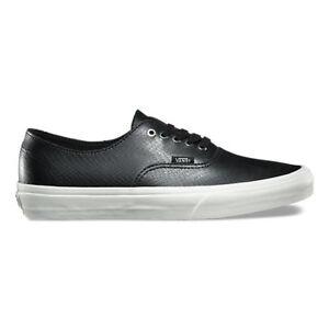 de75c9a780ec6c Vans Authentic Decon Snake Black Men s 8 Women s 9.5 Skate Shoes New ...