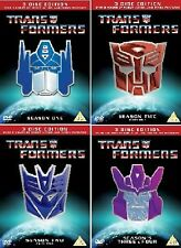 Transformers the Complete Original Animated Cartoon Series DVD Collection New
