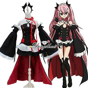 Seraph of the End Krul Tepes Cosplay Costume wig UK