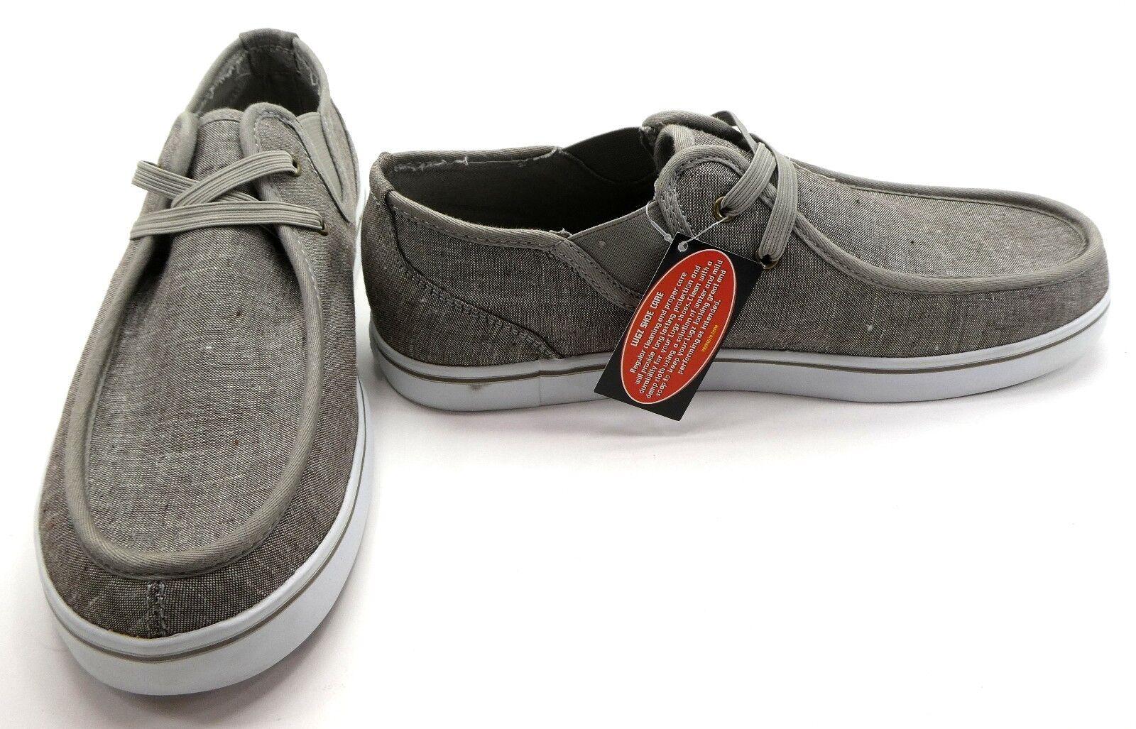 Lugz Shoes Sparks Lo Slip On Laceless Denim Stone Grey  Size 9
