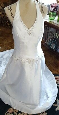 c047New White//ivory  Wedding dress Bridal Gown custom size 2 4 6 8 10 12 14+++
