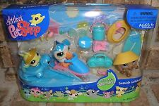Littlest Pet Shop SEASIDE CELEBRATION 3rd Edit 517 518 519 Dachshund, Pelican