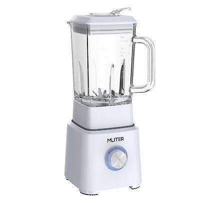 Neu Mliter 800W 1.6L Standmixer Entsafter Juicer Saftmaschine Küchenwerkzeug EU