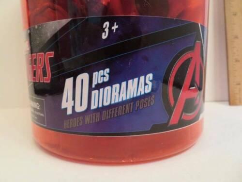 Iron Man Marvel Avengers Mini Action Figures 40pcs Cpt America Thor, Thonas