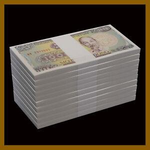 VIETNAM 1000 DONG 1988 P 106 UNC BUNDLE OF 20 NOTES 20 PCS
