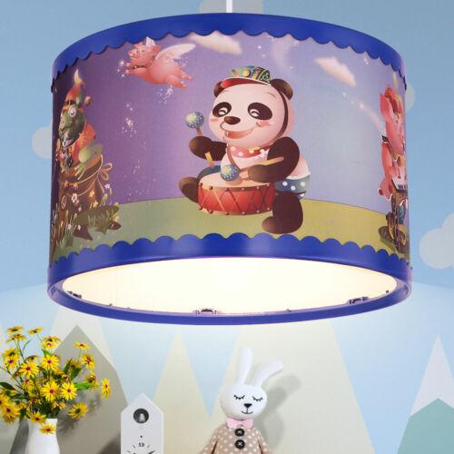 Animal Design Pendule Plafonnier Filles Garçons Enfants Chambre Lustre coloré