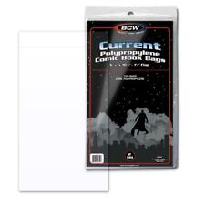 Comic Book Poly Bags FREE SHIPPING 100 CURRENT Hot Flips