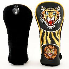 New Tiger Classic Retro Style Golf Fairway Metal Woods Head cover, Big Cat