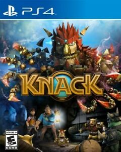 PLAYSTATION-4-PS4-GAME-KNACK-BRAND-NEW-amp-FACTORY-SEALED