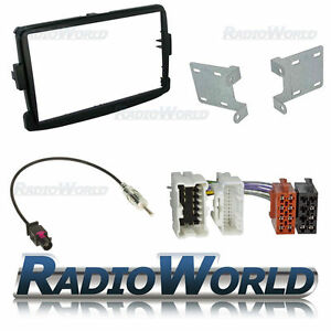 Dacia-Duster-Double-Din-Car-Stereo-Radio-Fitting-Kit-Fascia-ISO-Aerial-Adaptor