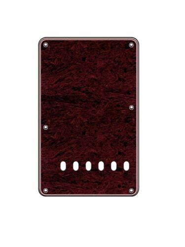 back plate Tortoise dark dunkel für Strat und ähnliche Gitarren Tremoloabdeckung