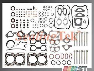 Compatible-04-06-Subaru-Ej255-Ej257-Motor-Turbo-Junta-de-Culata-Juego-con
