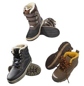 kinder winterschuhe schuhe boots jungen warmfutter mit. Black Bedroom Furniture Sets. Home Design Ideas