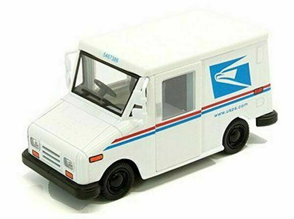 5 Usps Llv United States Postal Service Mail Diecast Model Toy
