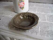 neu Keramik Schälchen mini Schale Teller Barock Landhaus French Shabby chic