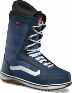 9 Snowboard Boots Navy White Laces | eBay