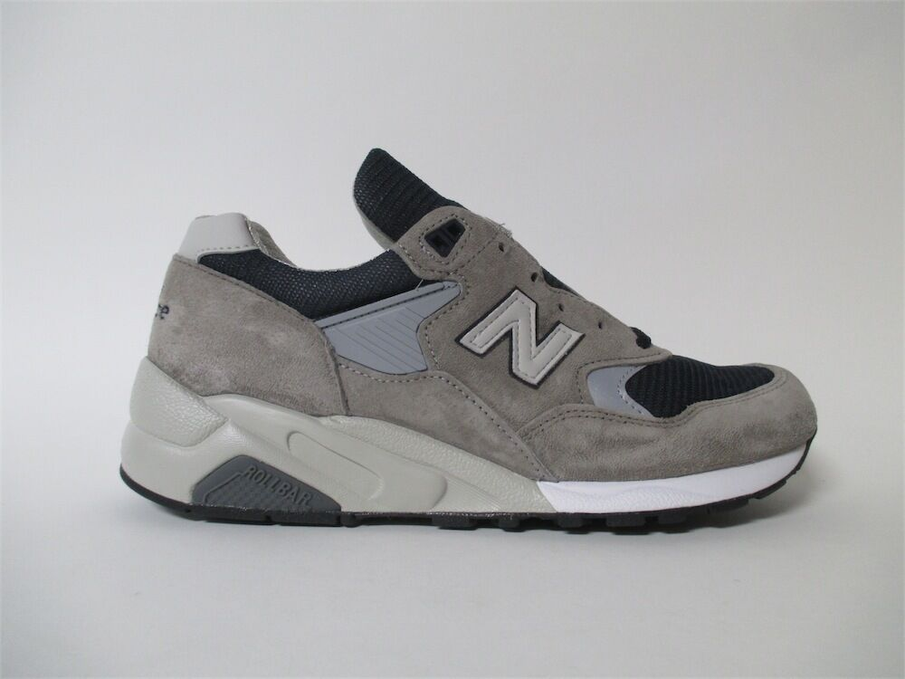 New Balance 585 Bringback Made in USA Grey Navy Sz 7 M585GR