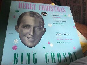 Merry Christmas, Bing Crosby, DECCA 1945 A-550   eBay