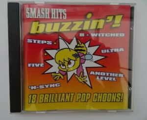 CD-Album-Smash-Hits-Buzzin-18-Hits-Steps-Five-N-Sync-Another-Level-Leilani