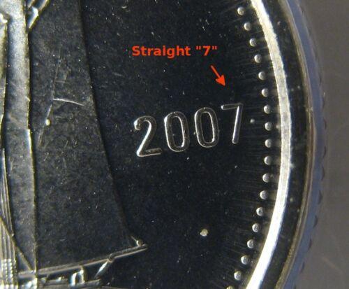 - BU RCM 2007-10-cents - Straight 7 /& Large Logo Original Sealed