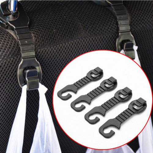 2X Car Back Seat Headrest Hanger Holder Hooks For BagS Purse Cloth Grocer Be 2