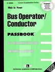 Bus Operator Conductor by Jack Rudman (Paperback / softback, 1988)