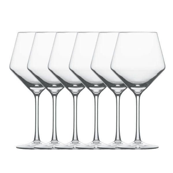 Schott Zwiesel Rotweingläser Pure Burgunderpokal (6-teilig)   Die Qualität Und Die Verbraucher Zunächst