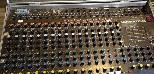 analog mixer Soundtracs 1642-S, Soundtracs 1642-S