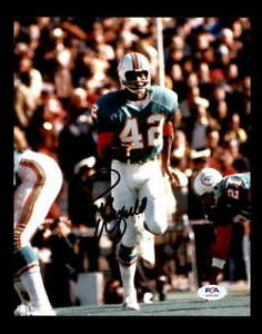 Paul Warfield PSA DNA Coa Hand Signed Dolphins 8x10 Autograph Photo