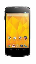 LG Nexus 4 E960 Phone 16 GB GSM Unlocked Black Black 16GB New