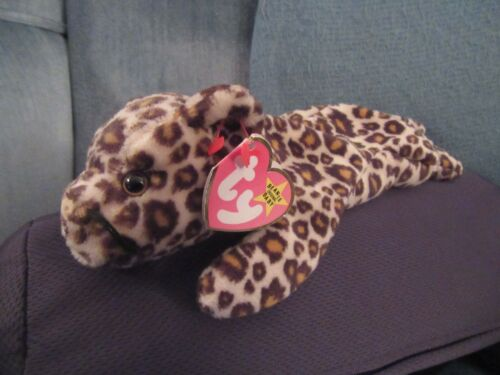 ORIGINAL TY BEANIE BABY FRECKLES WITH DOUBLE FASTENER SWING TAG MULTIPLE ERRORS