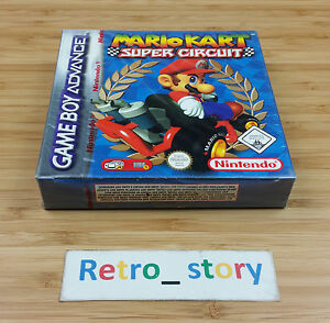 Nintendo Game Boy Advance Gba Mario Kart Super Circuit Neuf New
