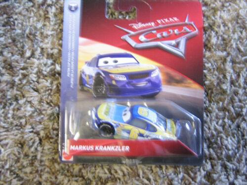 DISNEYPIXAR CARS 3 MARKUS KRANKZLER PISTON CUP RACERS SERIES