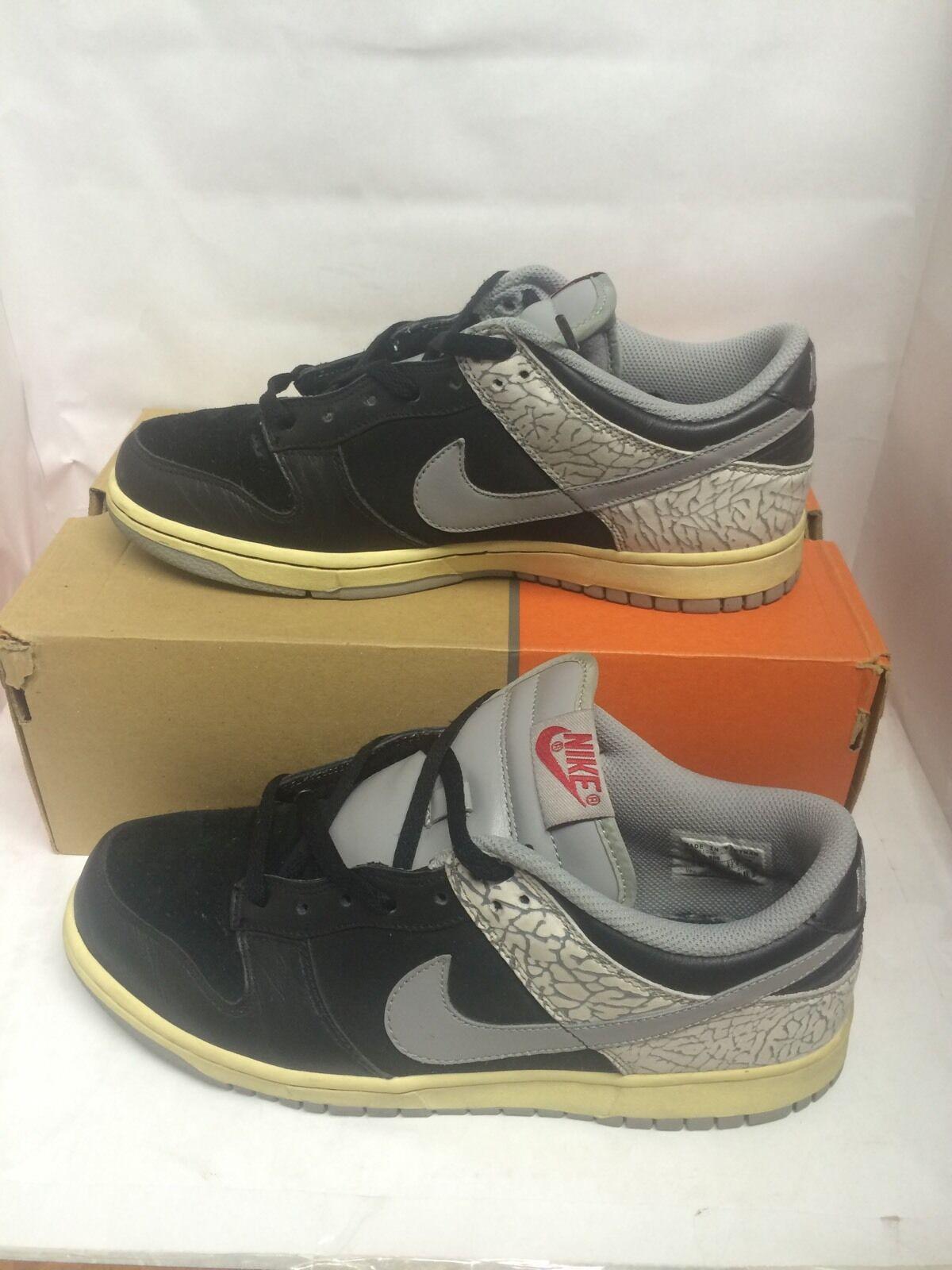 Nike e basso cl jordan 3 utilizzati taglia 9 supremo