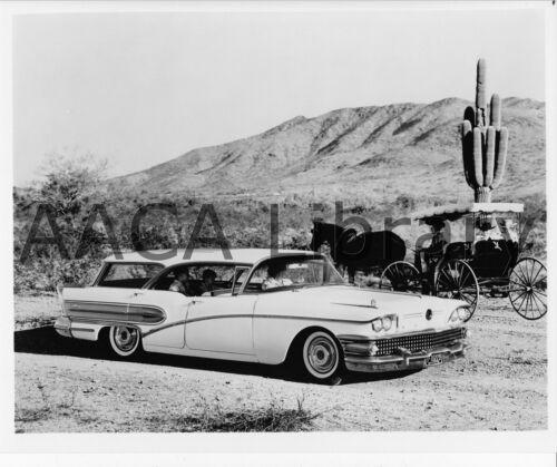 Factory Photo Ref. # 28546 1958 Buick Model 69 Century Cabellero Estate