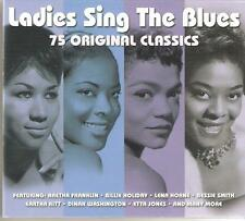 LADIES SING THE BLUES 75 ORIGINAL CLASSICS - 3 CD BOX SET