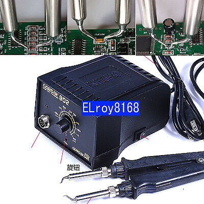 110V 220V 75W SMD Soldering Iron Tweezers Special Elbow GORDAK902 Heating