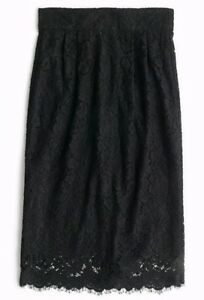 Rare Lace Sz Crew J J Petite Pintucked Nwt F9297 In P2 Pencil crew Skirt 2 5gYP0wgqxW