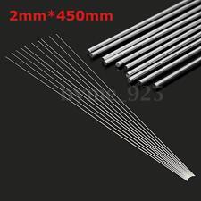 10x 2mm Aluminium Low Temperature Welding Brazing Rod For all AL Parts 45cm