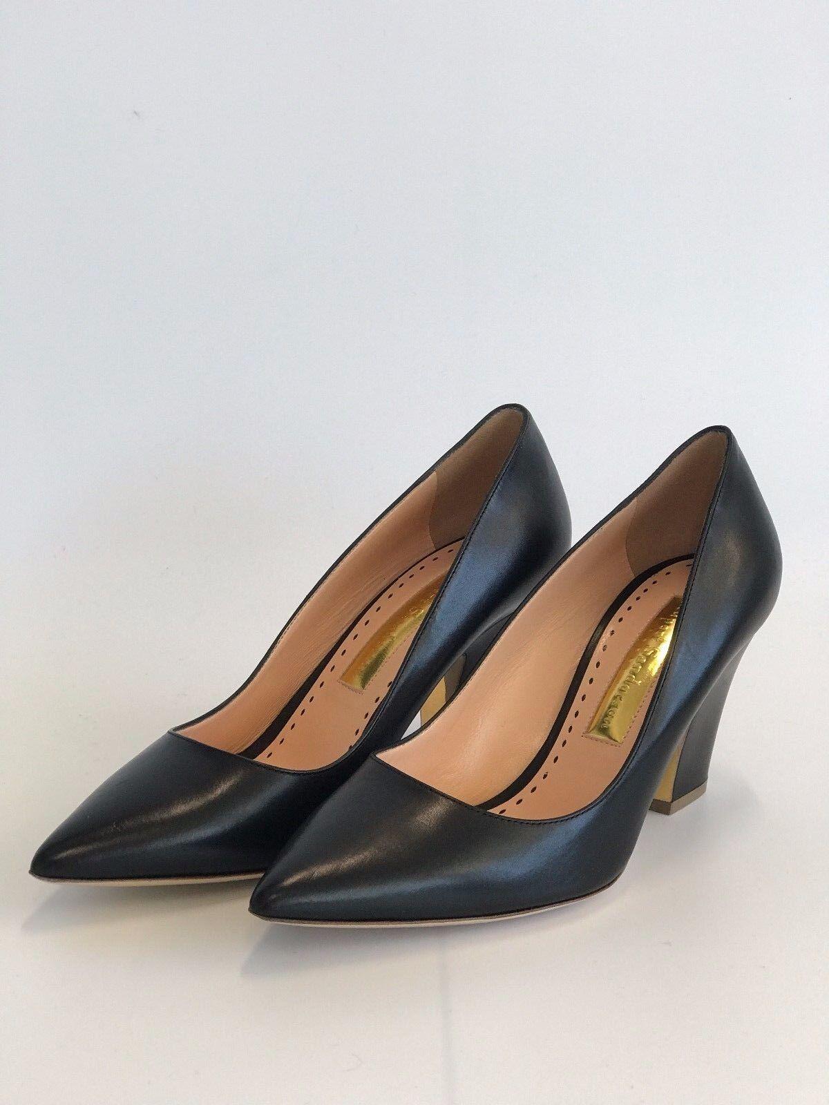 Rupert Sanderson London Pierrot Leather Pointed Toe  - Size 39