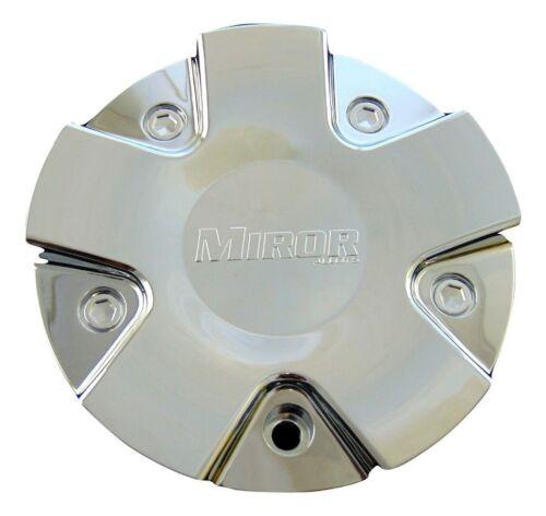 "Miror Alloys Wheels Rim Center Cap CAP985L155 Chrome 6 1//16/"" New"