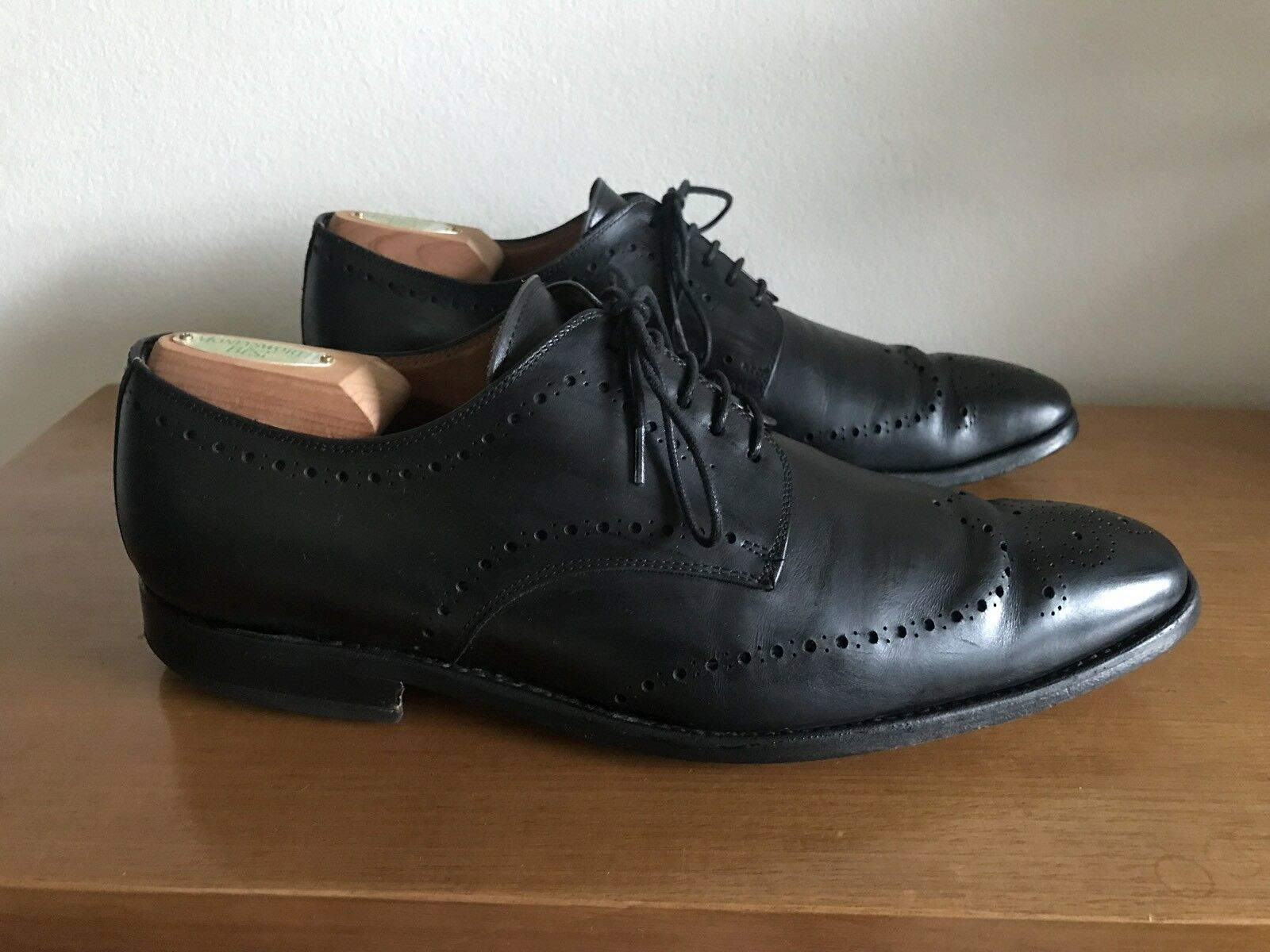 Howell Geneva - Swiss shoes For Men - Size 8-8.5 - Leather Brogues