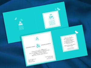 Partecipazioni Matrimonio Color Tiffany.Partecipazioni Nozze Wedding Invitation Inviti Matrimonio Tiffany