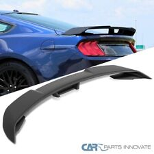 For 15 20 Ford Mustang Gt500 Style Matte Black Rear Trunk Spoiler Tail Wing 1pc Fits Mustang